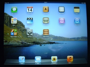 ipad iOS 5 screenshot