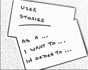 User stories image