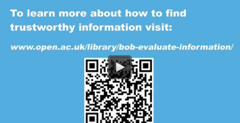 Bob animation screenshot showing QR code